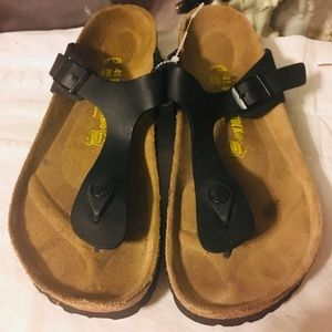 Birkenstock Leather Sandals Size 41